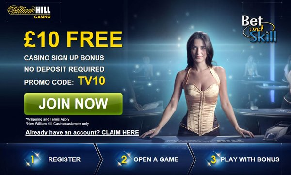 william hill казино бонус